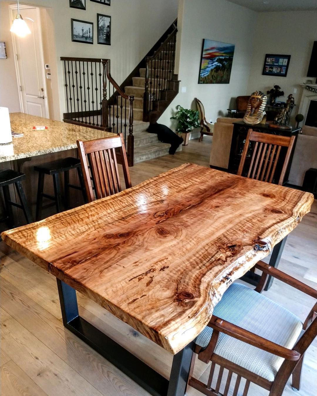 Live Edge Office Table