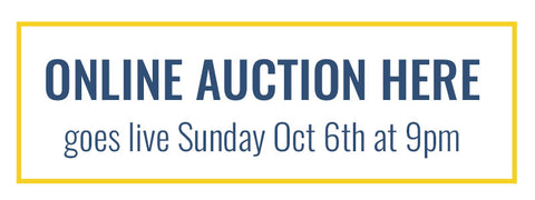 REVIVE Online Auction goes live Sunday Oct 6 at 9pm!