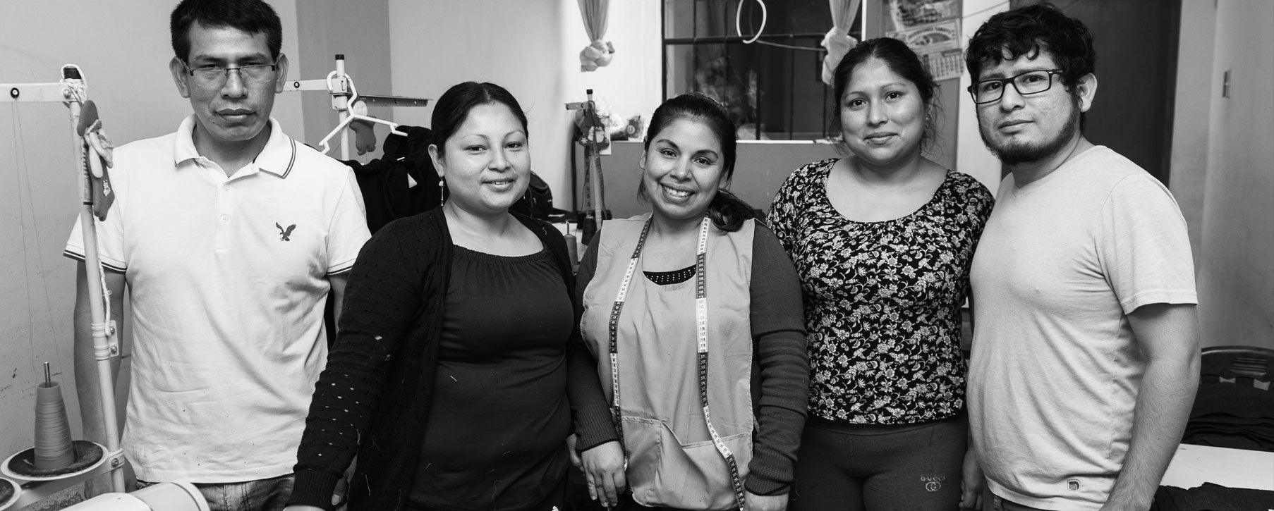 Fair trade workshop in Peru