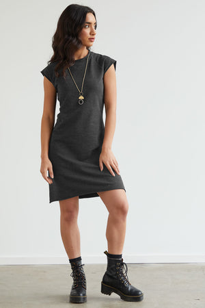 Minimalist French Terry Dress