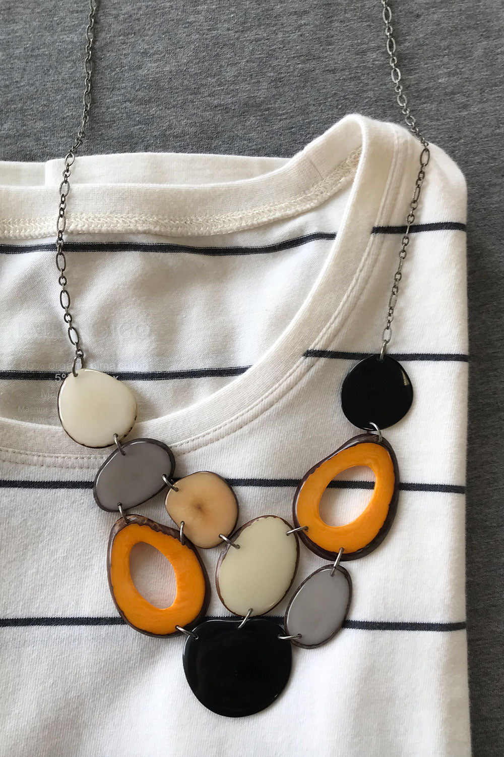 The Medley Tagua Nut Necklace