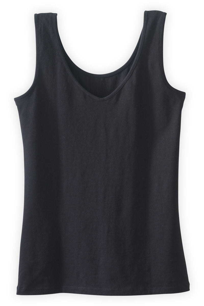 womens organic tanks fatigue green