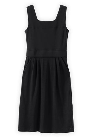 Sleeveless Square Neck Dress