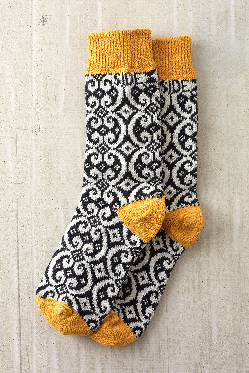 Pattern Cotton Socks