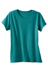 Womens 100% Organic Cotton T-shirt Green - Fair Indigo