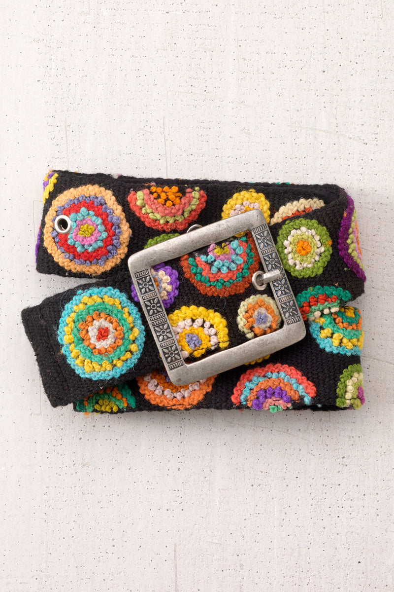 tey-art-womens-fair-trade-circle-me-hand-embroidered-wool-belt-black