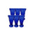 LHO Cobalt Blue Water Glass - Set of 6