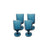 LHO Teal Blue Cordial Water - Set of 4