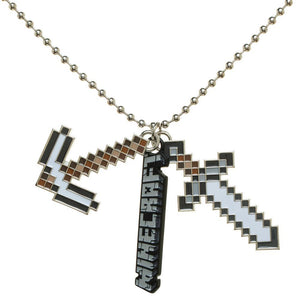 Minecraft Charm Ball Necklace