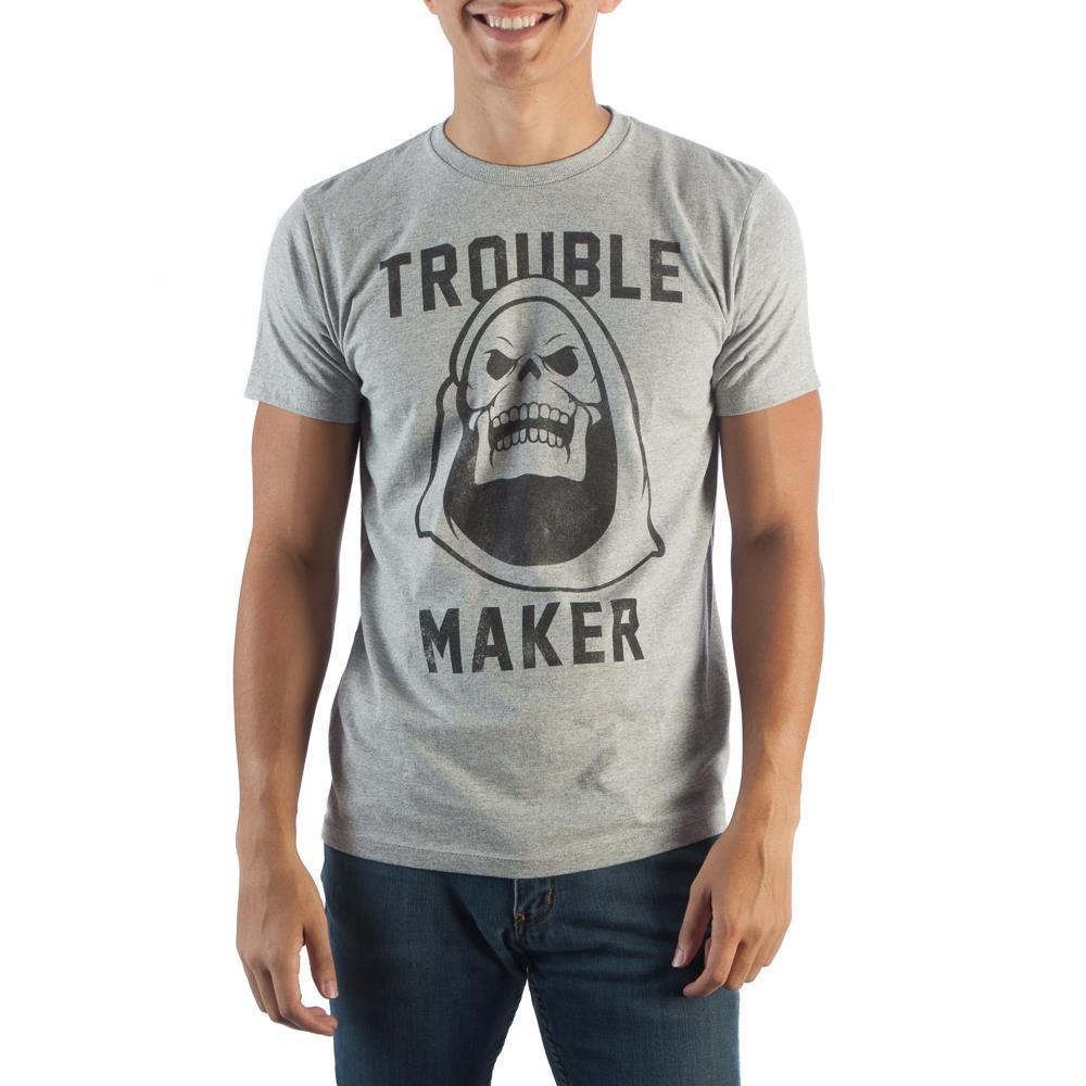 Trouble Maker Grey T-Shirt