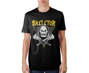Skeletor Adult Crew Neck T-Shirt