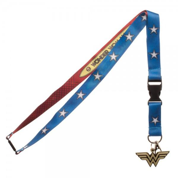 DC Comics Wonder Woman Suit Up Lanyard - Nerdco