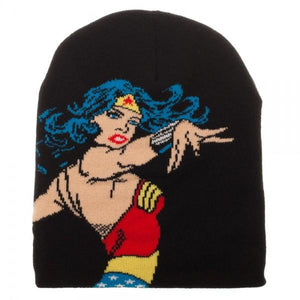 Wonder Woman Jacquarded Knit Beanie