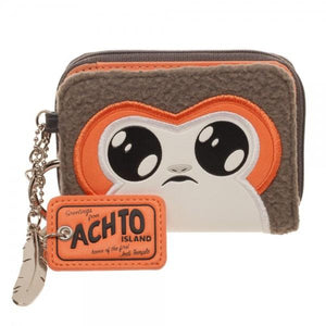 Star Wars Episode 8 Porg Juniors Mini Bi-Fold Wallet