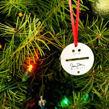 Load image into Gallery viewer, JDD CHRISTMAS TREE ORNAMENT