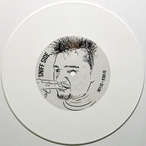 "DJ IDEA - BUTT SNIFF BREAKS - 7"" (White Vinyl)"