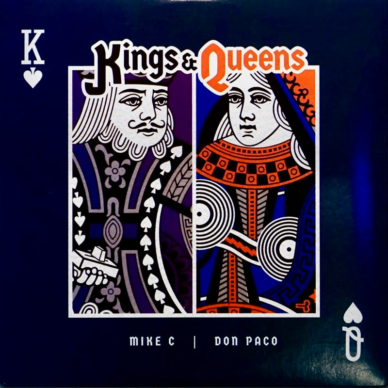 KINGS & QUEENS – MIKE C & DON PACO - 7″ (Green Vinyl)