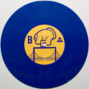 "THE ITCHY - DJ IDEA - 7"" (Blue Vinyl)"