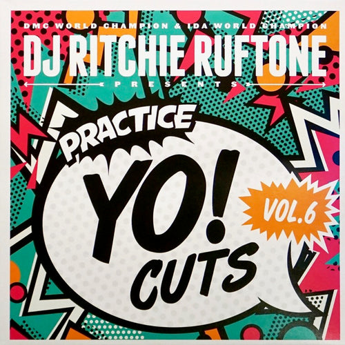 TTW010 - PRACTICE YO! CUTS Vol.6 - 7IN Vinyl