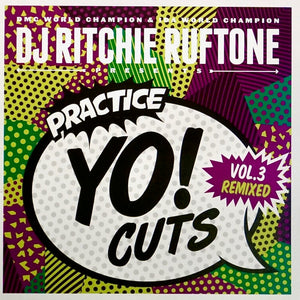 TTW005 - PRACTICE YO! CUTS Vol.3 - 7IN (Teal Vinyl)