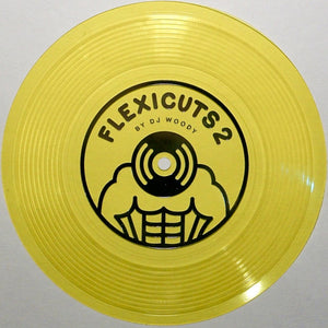 "FLEXICUTS 2 - DJ WOODY - 7"" (Yellow)"