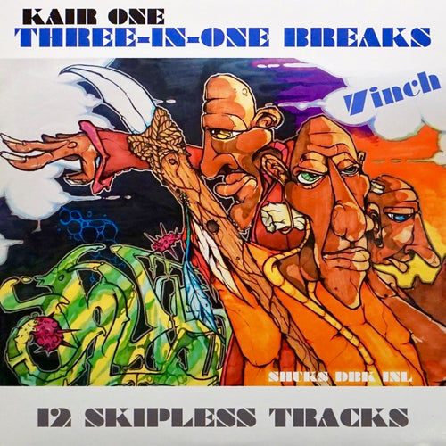 KAIR ONE - THREE-IN-ONE BREAKS - 7IN Vinyl