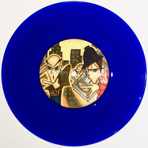 KAIR ONE – SETTLE THE MATTER - 7IN (Blue Vinyl)