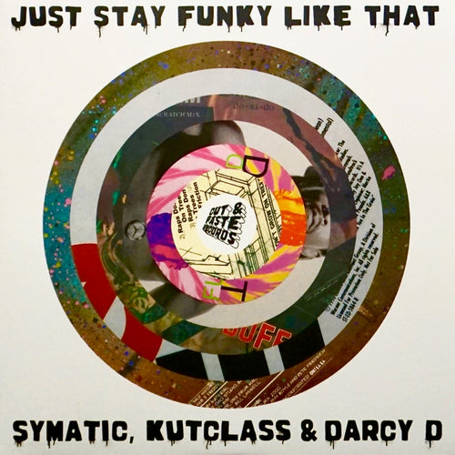 CUT & PASTE - JUST STAY FUNKY LIKE ZA - 7″ (Pink Vinyl)