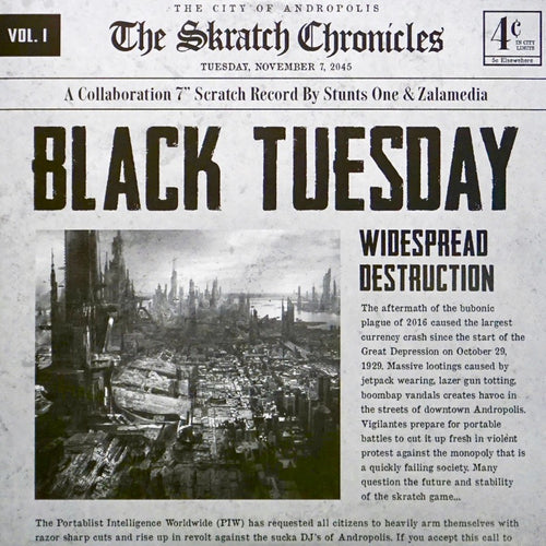 BLACK TUESDAY - 7IN Vinyl