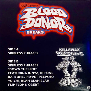 KAIR ONE - BLOOD DONOR BREAKS - 7″ (White Vinyl)