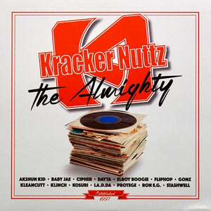 "TEXAS SCRATCH LEAGUE ‎– KRACKER NUTTZ THE ALMIGHTY - 7"" (Clear Vinyl)"