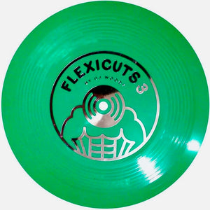 FLEXICUTS 3 - DJ WOODY – 7″ (Green)