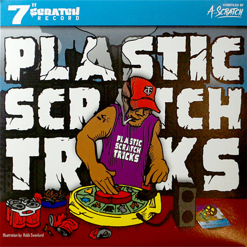 A-Scratch - Plastic Scratch Tricks 7in (RED VINYL)