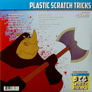 A-Scratch - Plastic Scratch Tricks - 7IN (RED VINYL)