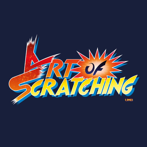 Art of Scratching - UGLY MAC BEER - 7IN (FIRE BALL VINYL)