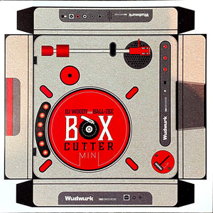 BOX CUTTER MINI  - DJ WOODY FEAT. BALL-ZEE - 7IN VINYL