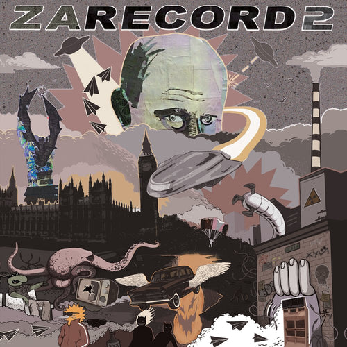 CUT & PASTE - ZARECORD 2 - NMPC STUDIOS - 7IN VINYL