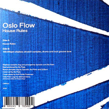 "Load image into Gallery viewer, CUT & PASTE - HOUSE RULES - OSLO FLOW - 7"" VINYL"