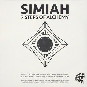 "CUT & PASTE - SIMIAH - 7 STEPS OF ALCHEMY - 7"" VINYL"