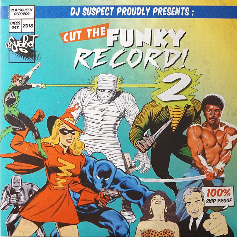 CUT THE FUNKY RECORD 2 - DJ SUSPECT - 7IN (YELLOW VINYL)