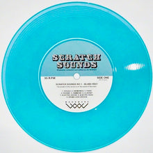 "Load image into Gallery viewer, DJ WOODY SCRATCH SOUNDS NO. 1 -  7"" (BLUE VINYL)"
