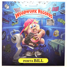 Load image into Gallery viewer, DJ WOODY - PORTA BILL - 7IN (DOLPHIN BLUE VINYL)