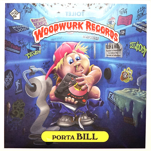 DJ WOODY - PORTA BILL - 7IN (DOLPHIN BLUE VINYL)