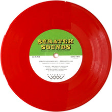 "Load image into Gallery viewer, DJ Woody - Scratch Sounds No. 2 - 7"" Red Vinyl"