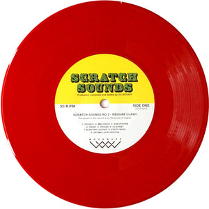"DJ Woody - Scratch Sounds No. 2 - 7"" Red Vinyl"