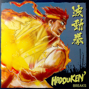 HADOUKEN BREAKS - DJ RASP - DNA - 7IN (BLUE/WHITE MARBLE)