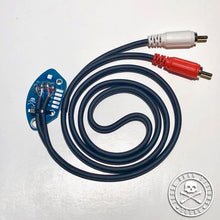 Load image into Gallery viewer, TECHNICS SL1200 RCA CABLE WITH INTERNAL GROUND PCB