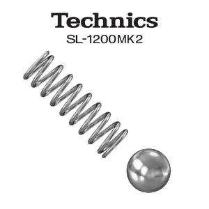 JDD TECHNICS SL1200MK2 SWITCH BALL AND SPRING