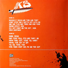 Load image into Gallery viewer, DJ EXCESS - KILLABLE SYLLABLES - 7IN (Orange Vinyl)