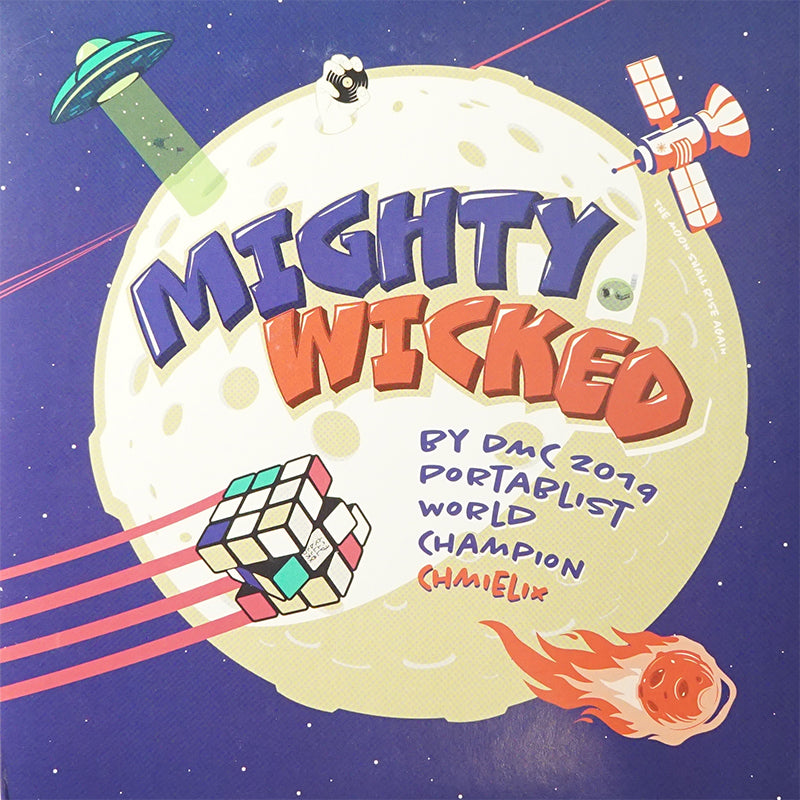 MIGHTY WICKED - DJ Chmielix - 7IN (BLUE VINYL)